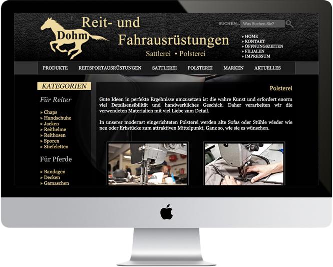 Sattlerei-Polsterei Dohm / Tensfeld