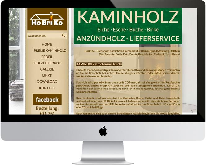 HoBriKo Kaminholz / Bosau