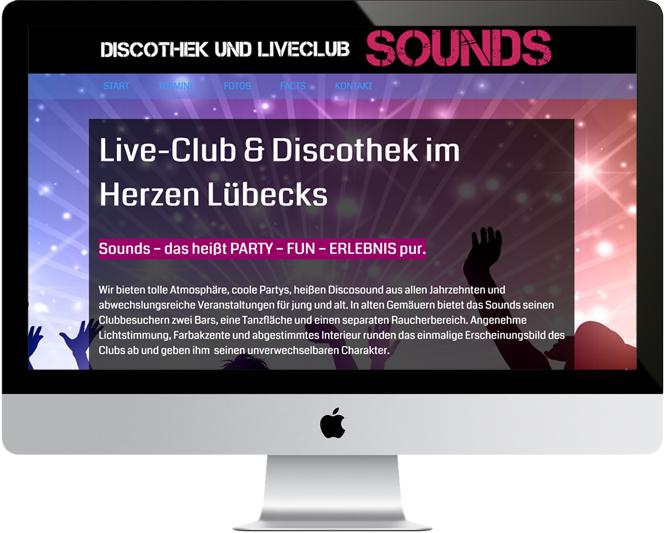 Discothek Sounds / Lübeck